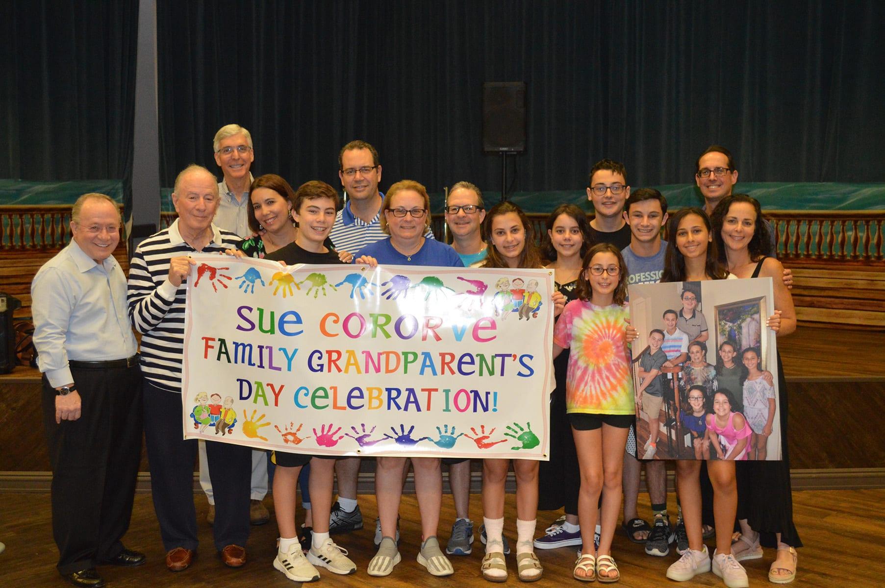 family sponsored grandparents day celebration